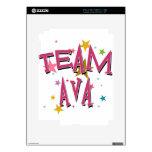 Personalizable de AVA del EQUIPO Skins Para iPad 2