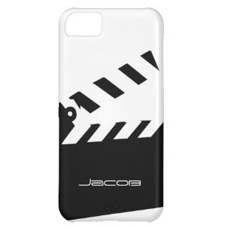 Personalizable de Clapperboard Funda Para iPhone 5C