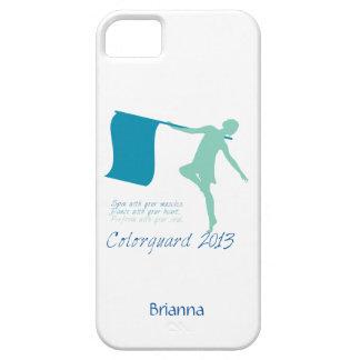 Personalizable de Colorguard 2013 iPhone 5 Funda