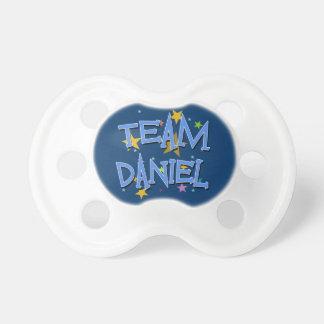 Personalizable de Daniel del equipo Chupetes
