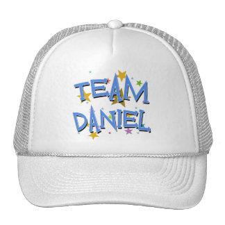 Personalizable de Daniel del equipo Gorras
