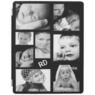 Personalizable de encargo del collage de la foto cubierta de iPad