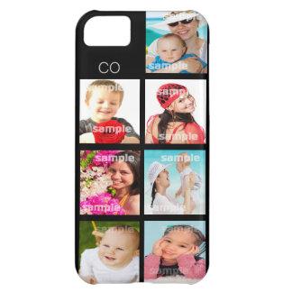 Personalizable de encargo del collage de la foto funda para iPhone 5C