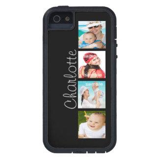 Personalizable de encargo del collage de la foto iPhone 5 fundas
