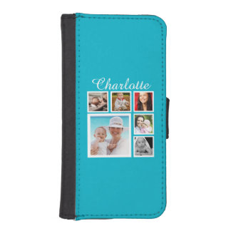 Personalizable de encargo personalizado del billetera para teléfono