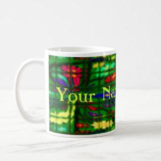 Personalizable de FlowerPowered Tazas De Café