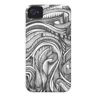 Personalizable de Furled el   iPhone 4 Protectores