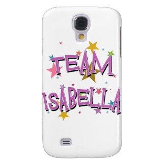 Personalizable de ISABEL del EQUIPO Funda Para Galaxy S4