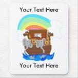 Personalizable de la arca de Noah Mouse Pads