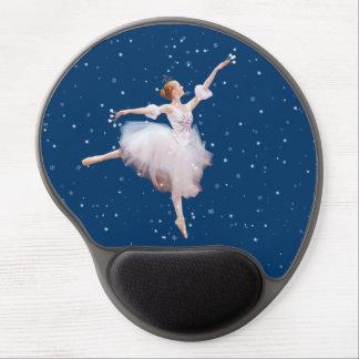 Personalizable de la bailarina de la reina de la n alfombrilla de ratón con gel
