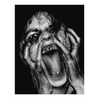 "Personalizable de la bruja vieja de la bruja folleto 8.5"" x 11"""