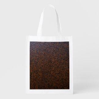 Personalizable de la capa baja de la textura del bolsas reutilizables