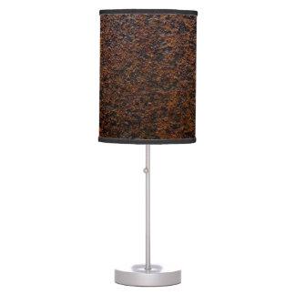 Personalizable de la capa baja de la textura del lámpara de mesa