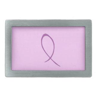 Personalizable de la conciencia de la epilepsia hebillas de cinturón rectangulares