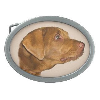 Personalizable de la hebilla del cinturón del perr hebilla de cinturón oval