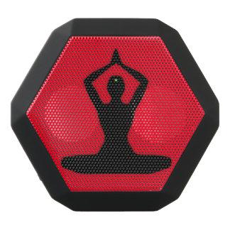 Personalizable de la meditación del zen altavoces bluetooth negros boombot REX