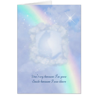 Personalizable de la pérdida del mascota del tarjeta de felicitación