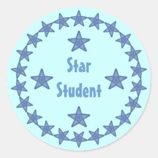Personalizable de la recompensa del estudiante de etiquetas redondas