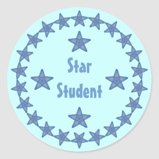 Personalizable de la recompensa del estudiante de pegatina redonda