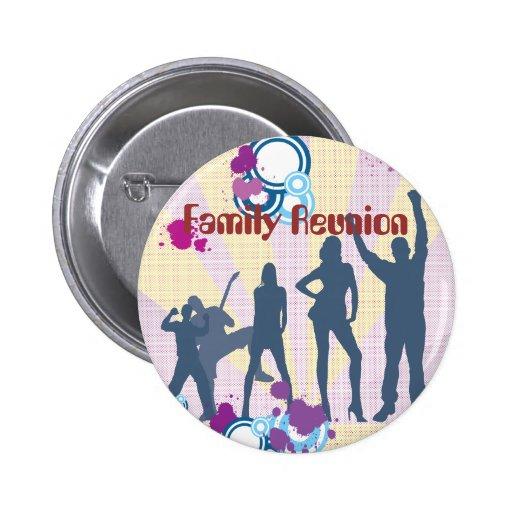 Personalizable de la reunión de familia pin