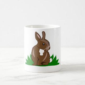 Personalizable de la taza de café del conejo de