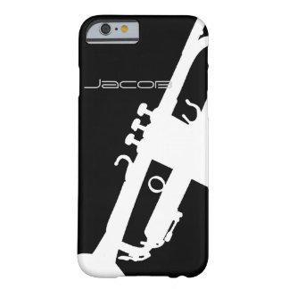 Personalizable de la trompeta funda de iPhone 6 barely there