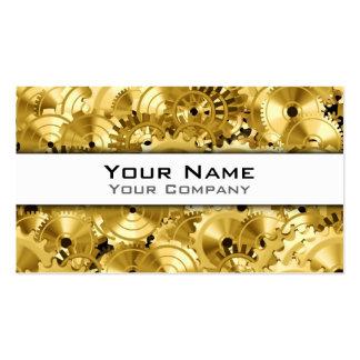 Personalizable de los engranajes 2 tarjeta de visita