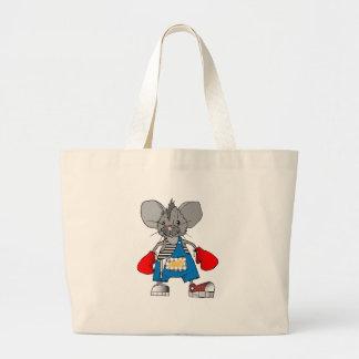 Personalizable de Mike del ratón de los ratones Bolsa Tela Grande
