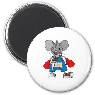 Personalizable de Mike del ratón de los ratones Imán Redondo 5 Cm