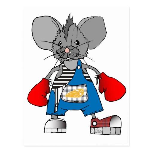 Personalizable de Mike del ratón de los ratones Postal