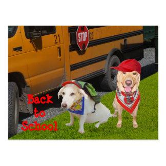 Personalizable de nuevo a escuela postal