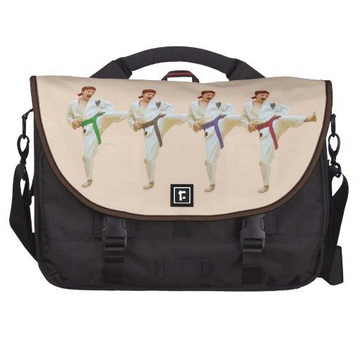 Personalizable de retroceso con el pie del bolso d bolsas para portátil