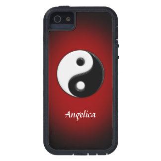 Personalizable de Yin Yang iPhone 5 Case-Mate Carcasas