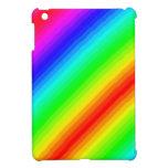 Personalizable del arco iris iPad mini protector