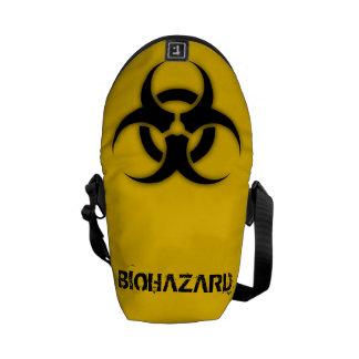 Personalizable del Biohazard Bolsas De Mensajeria