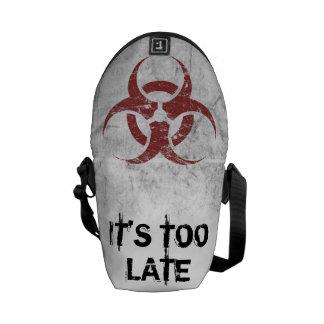 Personalizable del Biohazard Bolsas Messenger