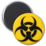 Personalizable del Biohazard Imanes Para Frigoríficos
