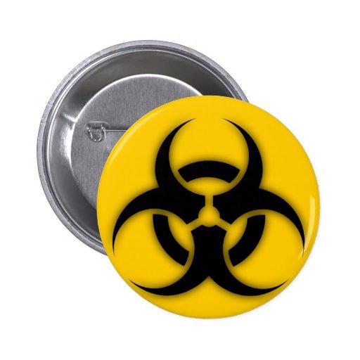 Personalizable del Biohazard Pin