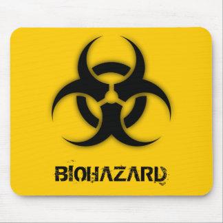 Personalizable del Biohazard Tapete De Raton