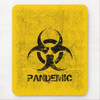 Personalizable del Biohazard Alfombrilla De Ratón