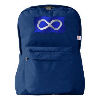 Personalizable del bolso de escuela de la bandera mochila