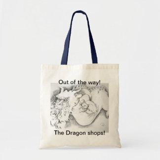 Personalizable del bolso del Xav-Dragón Bolsas De Mano
