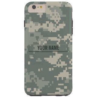 Personalizable del camuflaje del ACU del ejército Funda De iPhone 6 Plus Tough