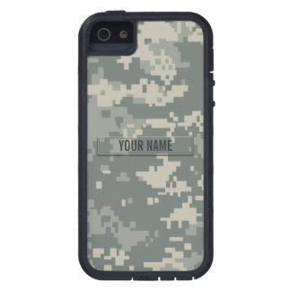 Personalizable del camuflaje del ACU del ejército Funda Para iPhone 5 Tough Xtreme