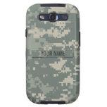 Personalizable del camuflaje del ACU del ejército Galaxy S3 Funda