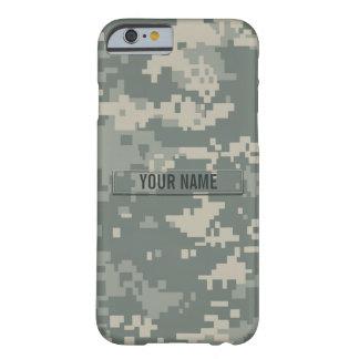 Personalizable del camuflaje del ACU del ejército Funda De iPhone 6 Barely There
