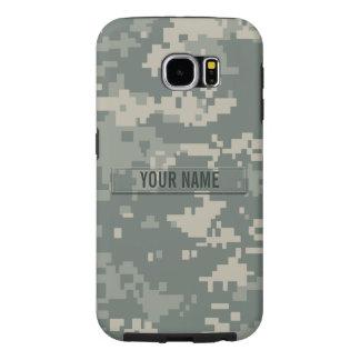 Personalizable del camuflaje del ACU del ejército Fundas Samsung Galaxy S6