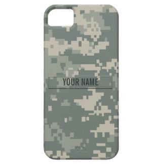 Personalizable del camuflaje del ACU del ejército iPhone 5 Fundas