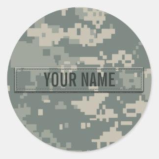 Personalizable del camuflaje del ACU del ejército Pegatinas