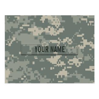 Personalizable del camuflaje del ACU del ejército Postales